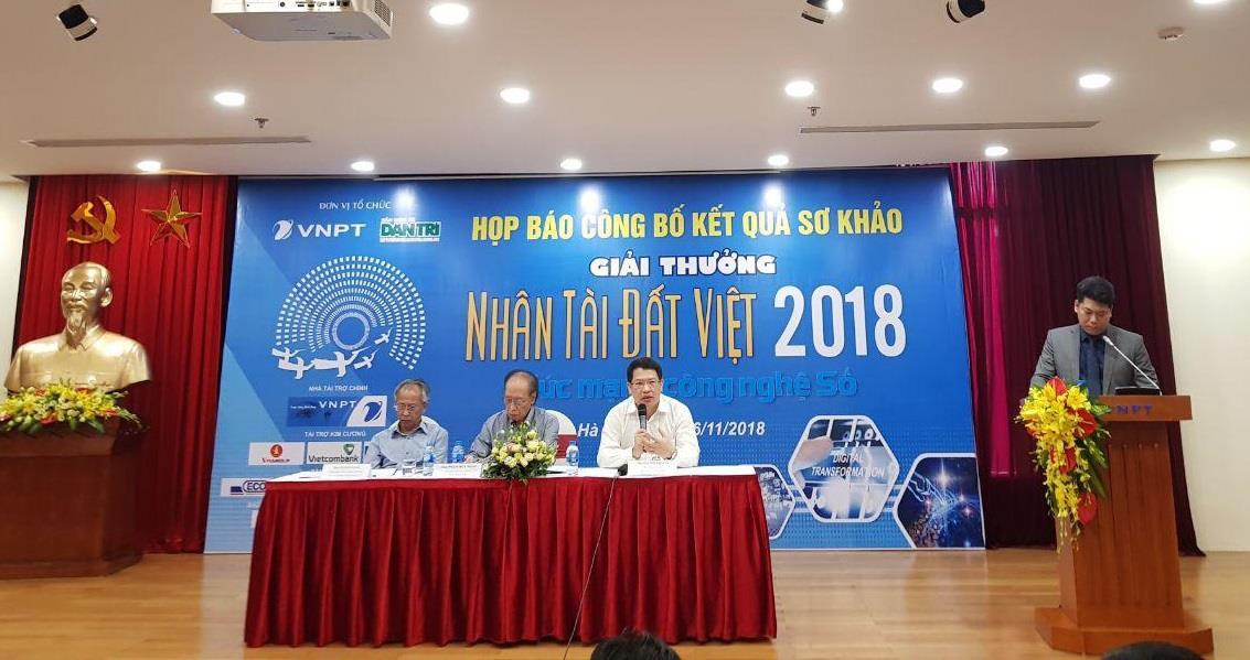 20 sản phẩm công nghệ thông tin tranh giải Nhân tài Đất Việt