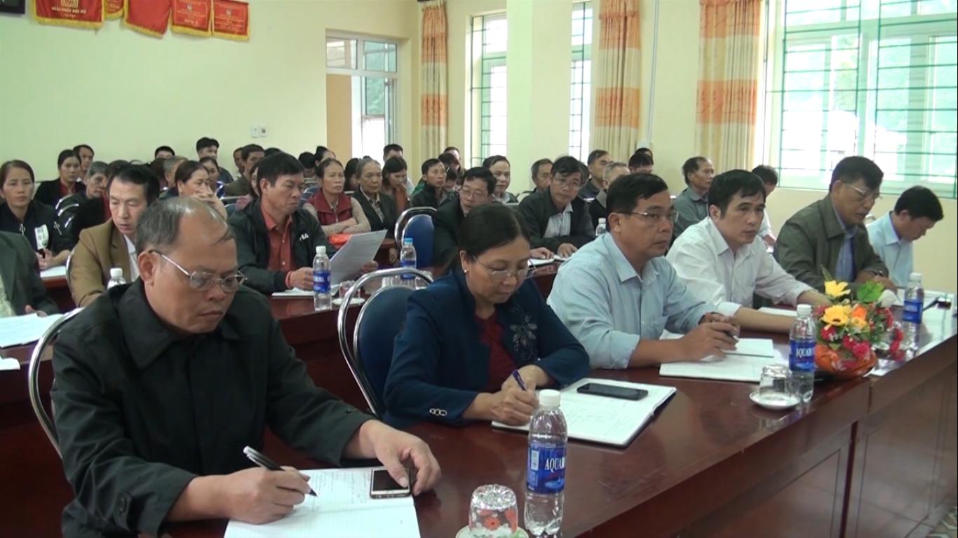 Đại biểu HĐND tỉnh: Tiếp xúc cử tri huyện Bảo Lâm trước Kỳ họp thứ 8, HĐND tỉnh