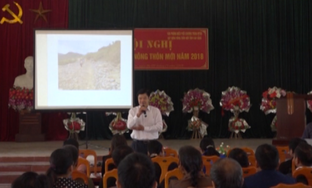 Quảng Uyên: Tuyên truyền xây dựng nông thôn mới