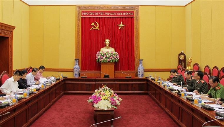 Sửa đổi quy định của Bộ Chính trị về tổ chức Đảng trong CAND