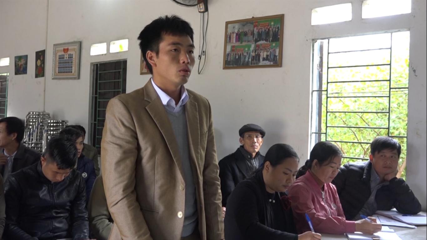 Đại biểu HĐND tỉnh, huyện Hòa An tiếp xúc cử tri các xã Bế Triều, Đức Xuân, Ngũ Lão (Hòa An)
