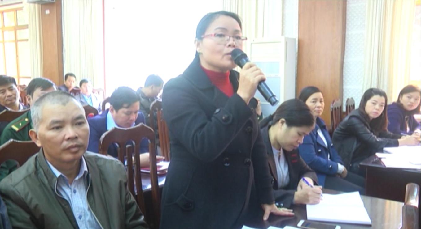 Đại biểu HĐND tỉnh, huyện Hà Quảng tiếp xúc cử tri 19 xã, thị trấn