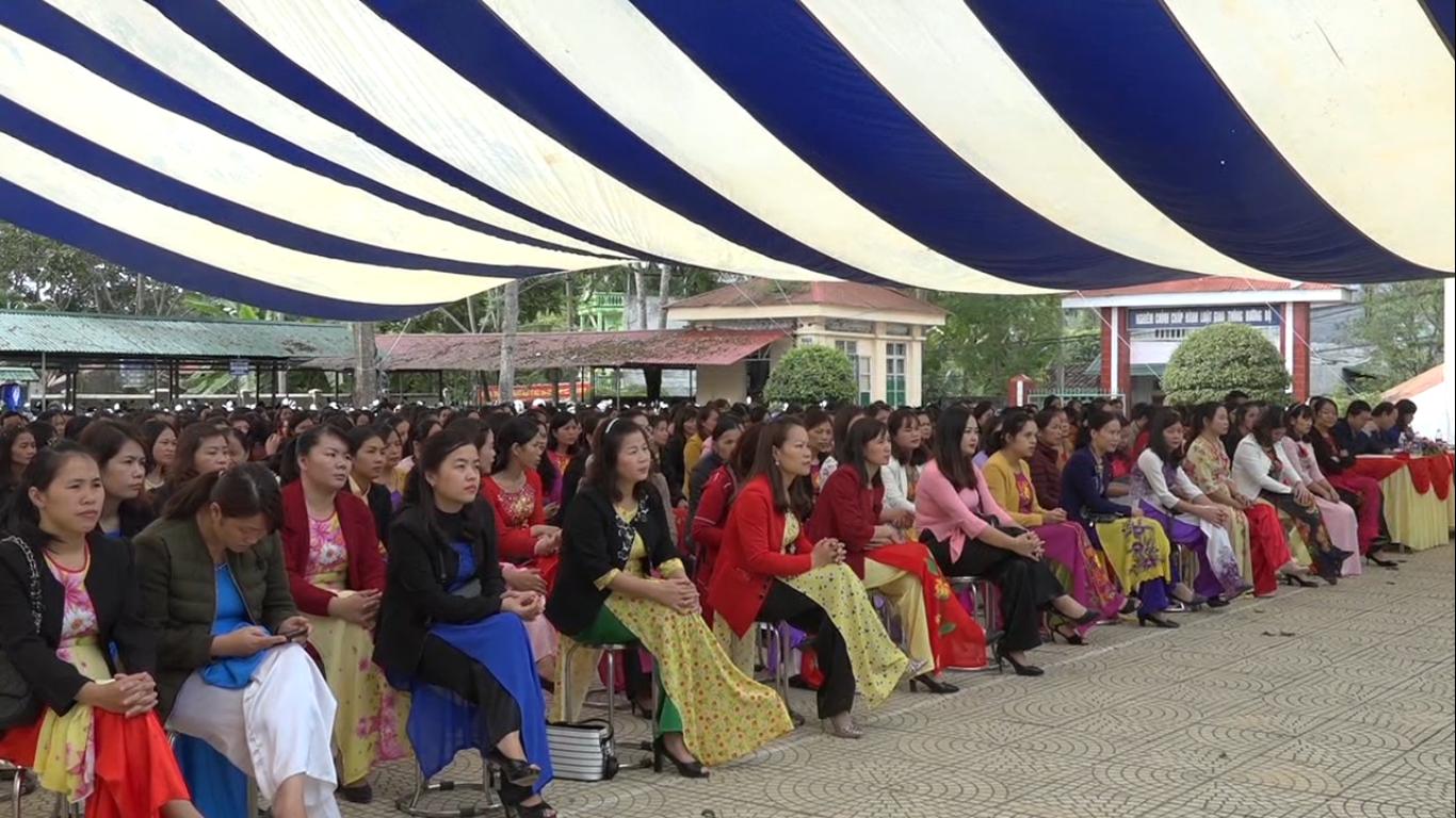 Hòa An: Hội thi giáo viên dạy giỏi cấp huyện năm học 2018 - 2019