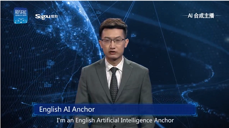 Trung Quốc trình làng MC trí tuệ nhân tạo dẫn chương trình