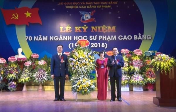 Kỷ niệm 70 năm ngành học sư phạm Cao Bằng (1948 - 2018)