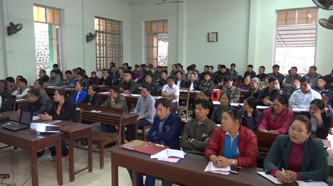 Thạch An: Tập huấn tuyên truyền nông thôn mới