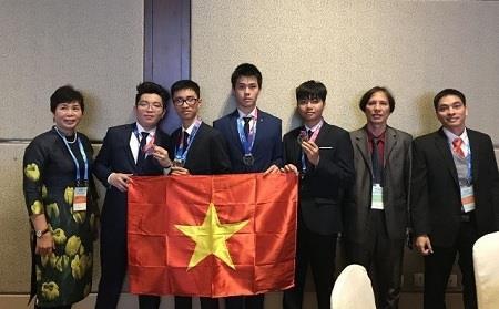 Việt Nam giành HCV Olympic Thiên văn học và Vật lý thiên văn