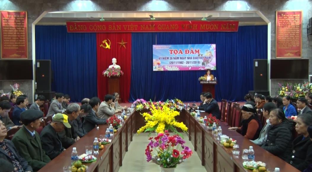 Trà Lĩnh: Tọa đàm kỷ niệm Ngày Nhà giáo Việt Nam 20/11