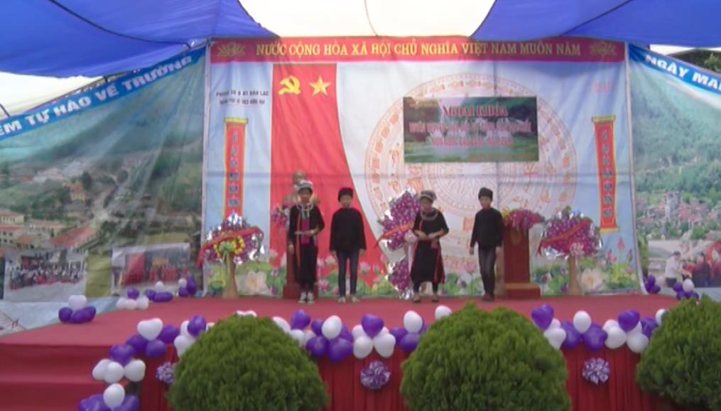 Bảo Lạc: Tuyên truyền về Công viên địa chất toàn cầu UNESCO Non nước Cao Bằng trong trường học