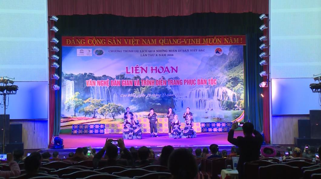 Hơn 250 diễn viên, nghệ nhân tham gia Liên hoan Biểu diễn văn nghệ dân gian và trình diễn trang phục dân tộc