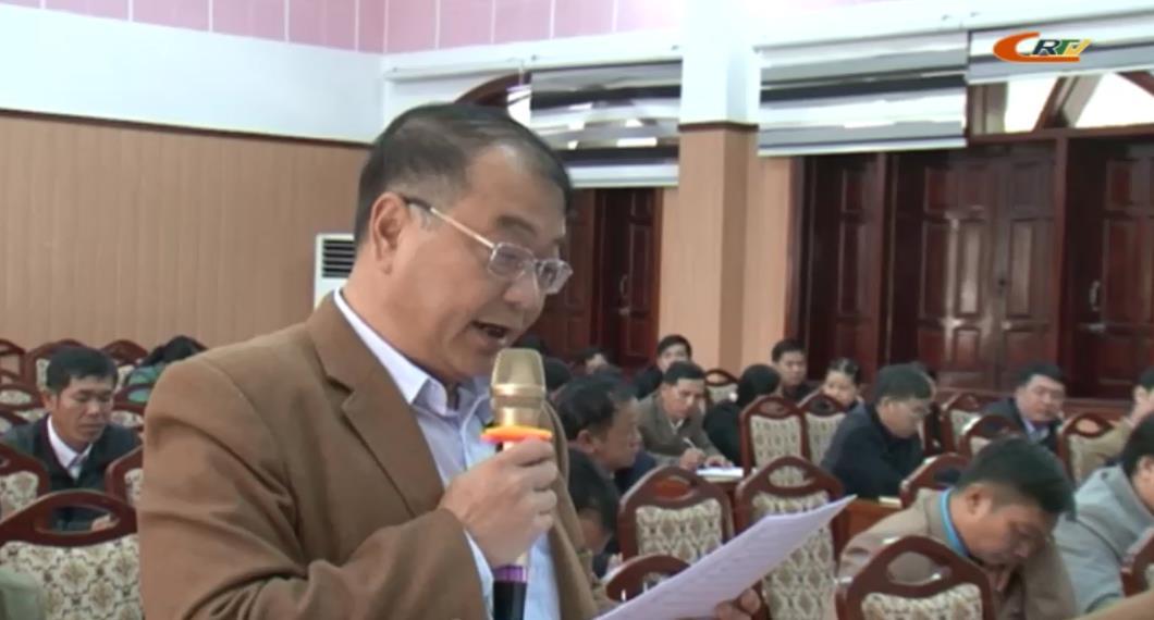 Đoàn ĐBQH tỉnh tiếp xúc cử tri huyện Bảo Lâm