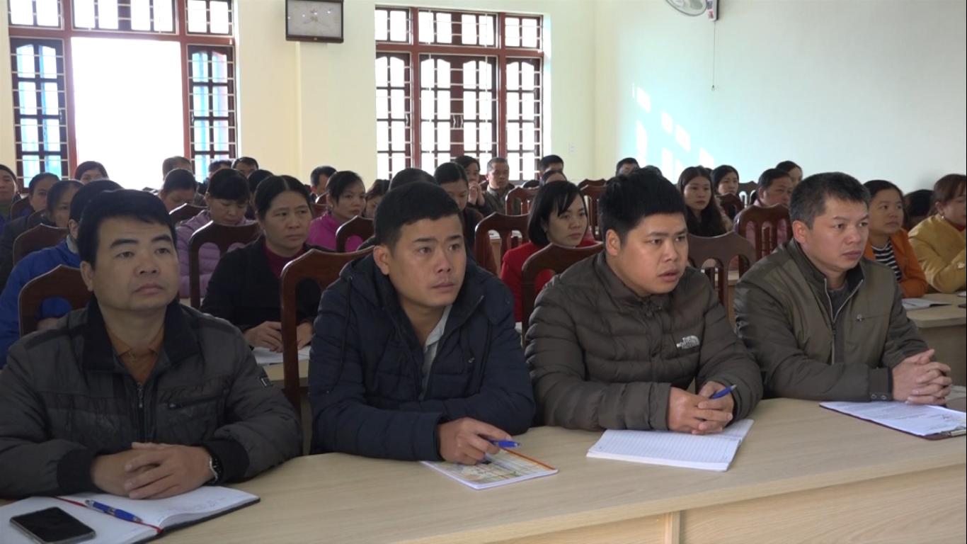Thạch An: Bồi dưỡng kiến thức quốc phòng an ninh cho 40 công chức, viên chức ngành Y tế