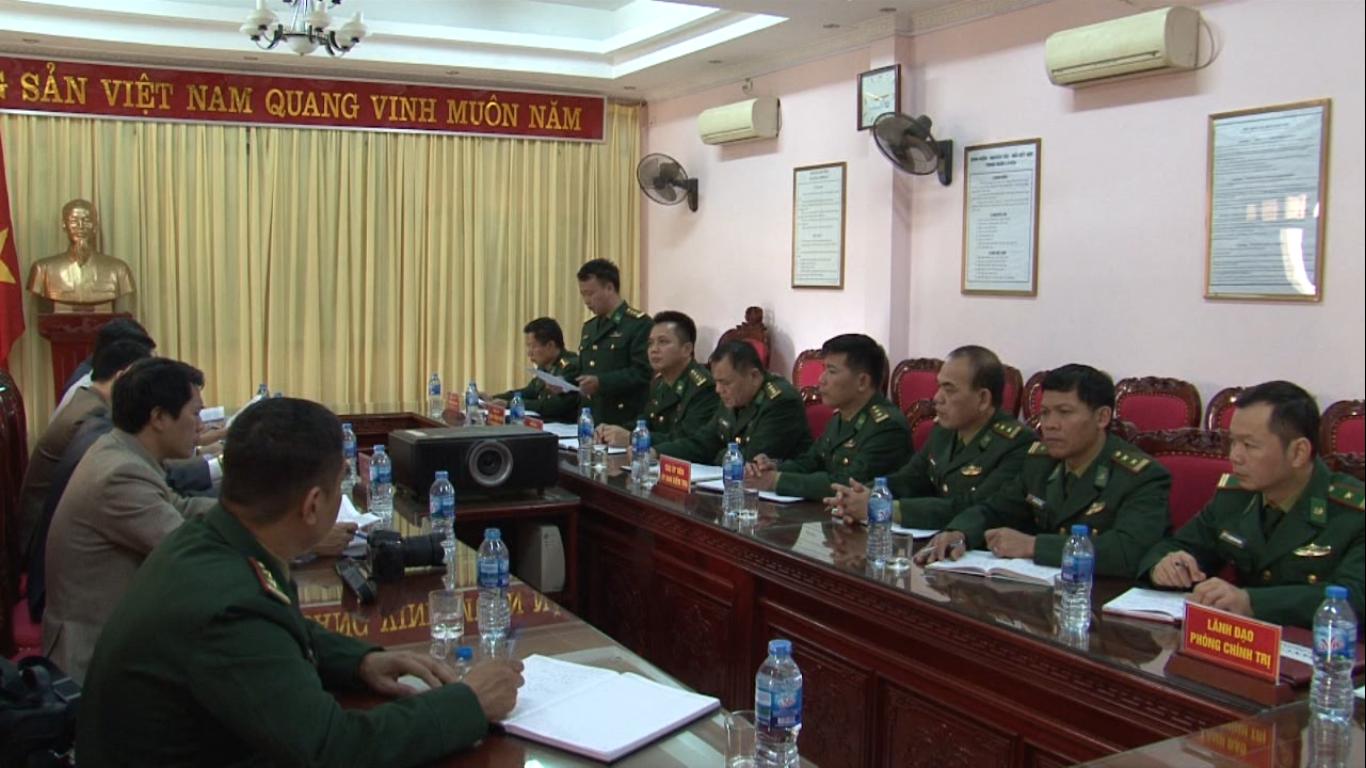 Tạp chí UBKT Trung ương làm việc với Đảng ủy BĐBP Cao Bằng