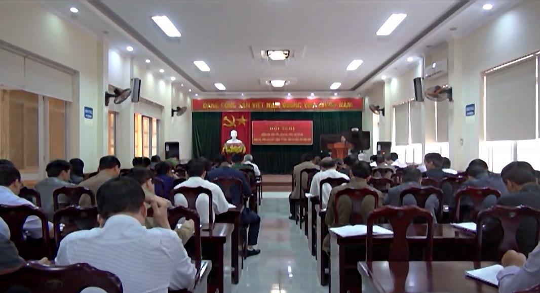 Quảng Uyên: Hội nghị hướng dẫn kiểm điểm, đánh giá, phân loại tổ chức Đảng và đảng viên