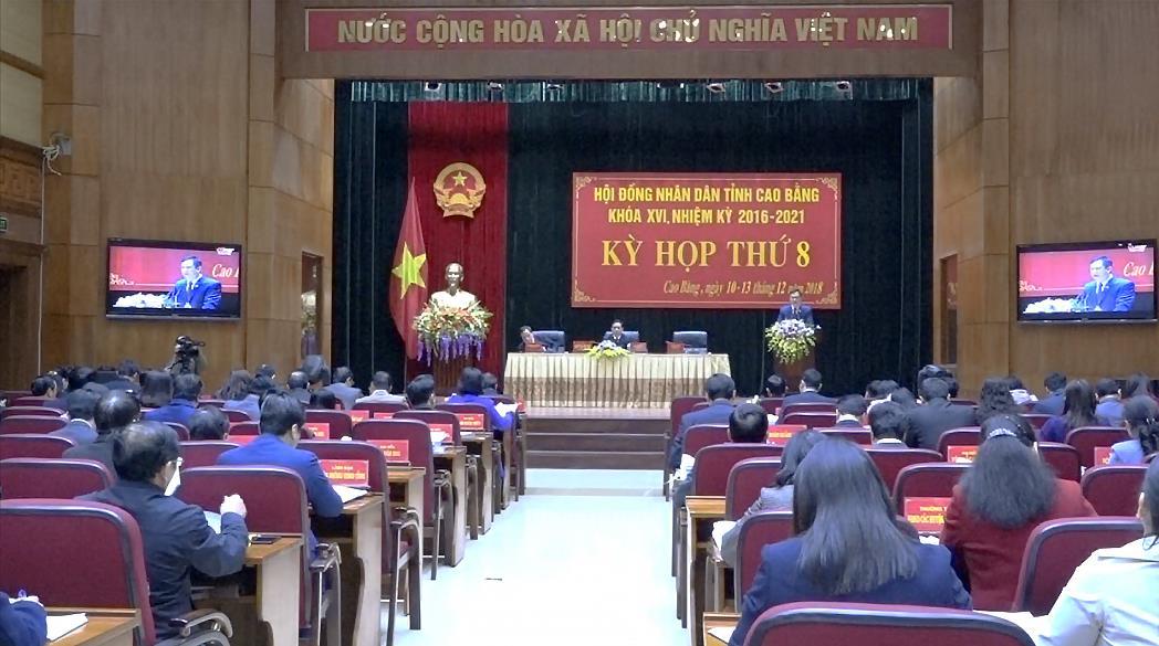Khai mạc Kỳ họp thứ 8 HĐND tỉnh khóa XVI, nhiệm kỳ 2016 - 2021