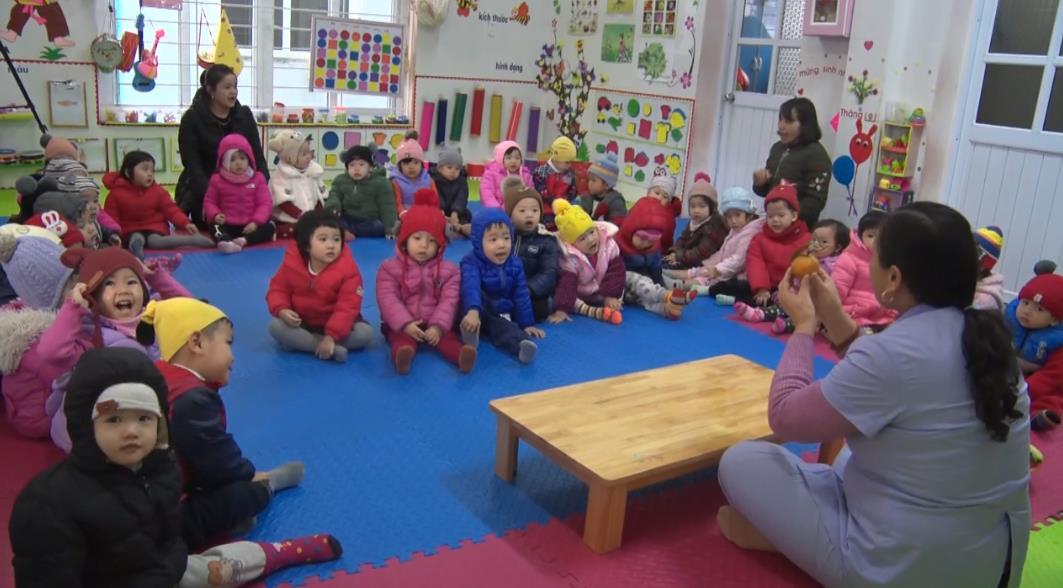 Các trường học đảm bảo sức khỏe cho học sinh trong mùa rét