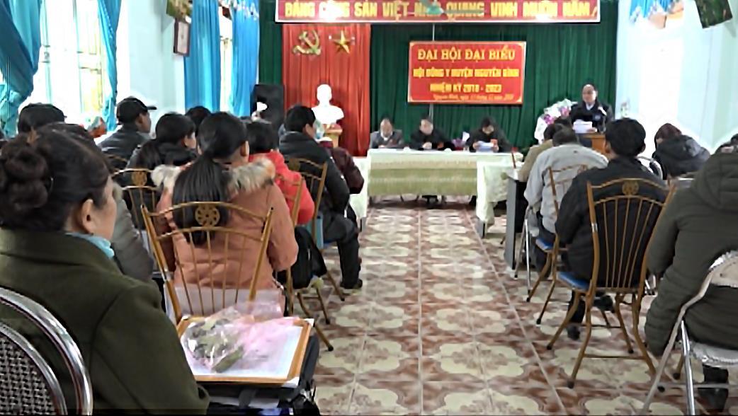 Nguyên Bình: Đại hội Hội Đông y huyện nhiệm kỳ 2018 - 2023