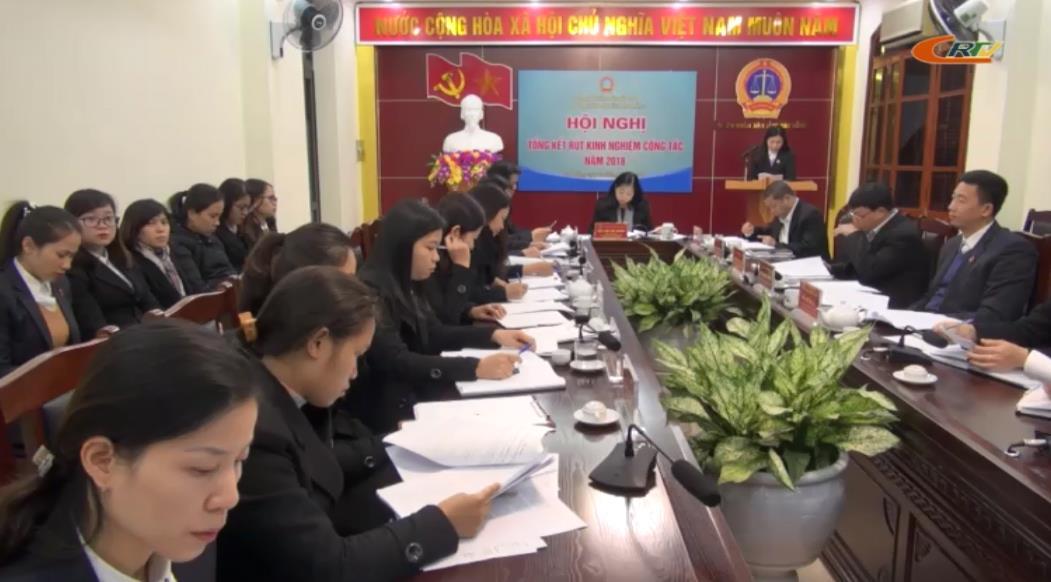 Tòa án nhân dân tỉnh: Hội nghị công chức, người lao động năm 2018