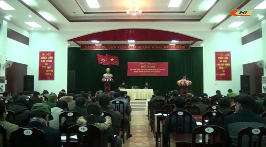 Trùng Khánh: Hội nghị đối thoại trực tiếp giữa người đứng đầu cấp ủy, chính quyền với nhân dân