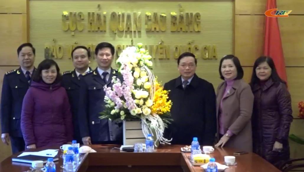 Phó Bí thư Thường trực Tỉnh ủy Triệu Đình Lê thăm, động viên các ngành khối Tài chính