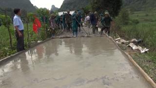 Xã Đại Sơn cơ bản hoàn thành các tiêu chí nông thôn mới