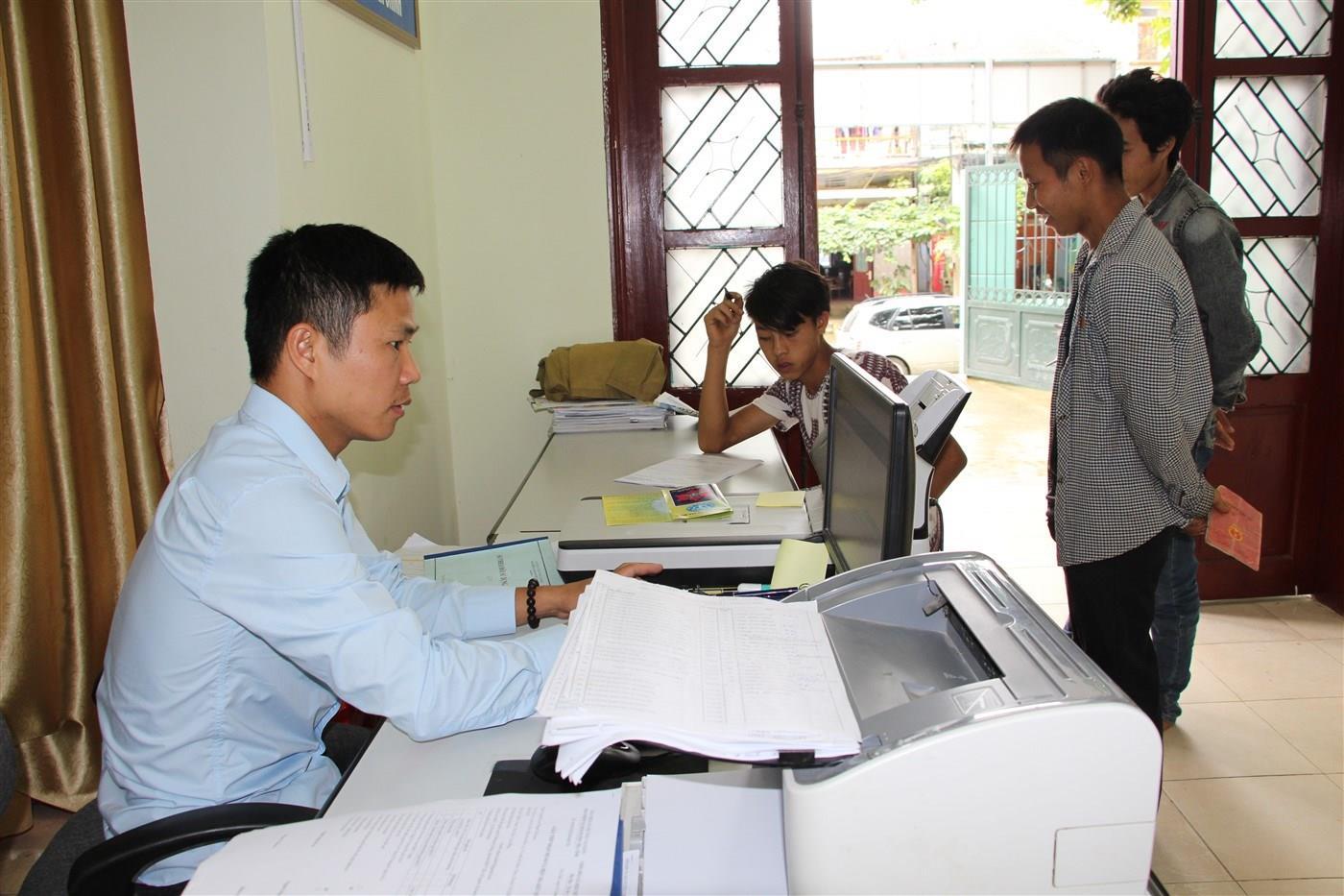 BHXH huyện Trà Lĩnh: Thu BHXH, BHYT, BHTN tăng 8% so với cùng kỳ năm 2017