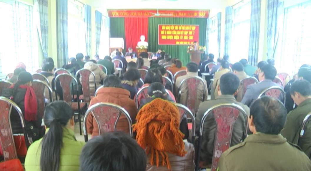 Đại biểu HĐND tỉnh tiếp xúc cử tri huyện Hà Quảng