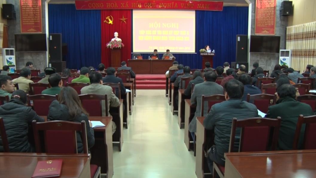 Đại biểu HĐND tỉnh tiếp xúc cử tri huyện Trà Lĩnh
