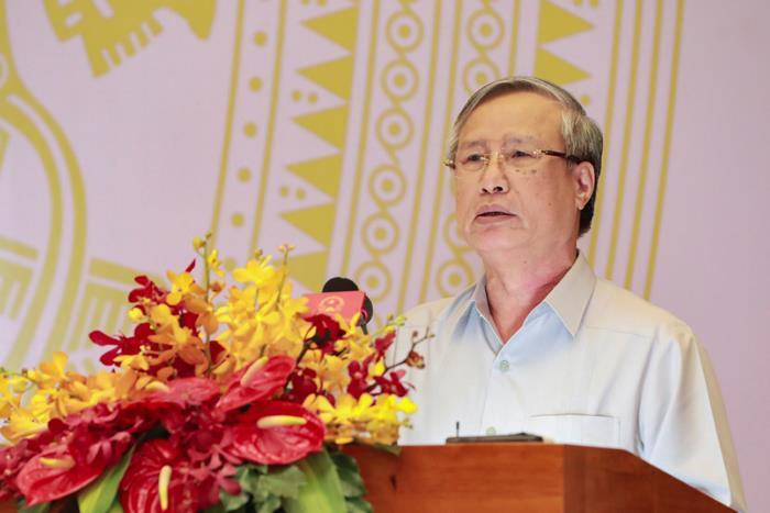 Thường trực Ban Bí thư dự Hội nghị Uỷ ban Trung ương MTTQ Việt Nam lần thứ 9