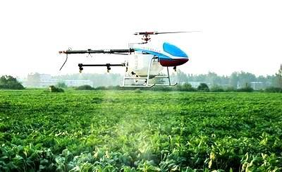 Nghiên cứu và phát triển trực thăng không người lái phục vụ nông nghiệp