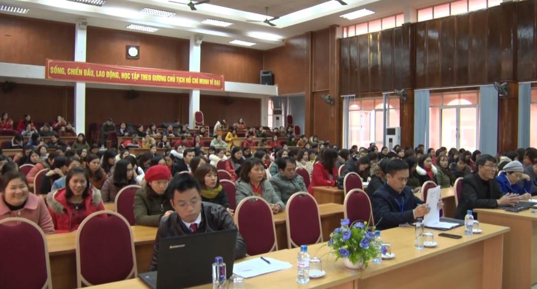 Thạch An: 154 giáo viên tham gia Hội thi Giáo viên dạy giỏi cấp huyện năm học 2018 - 2019