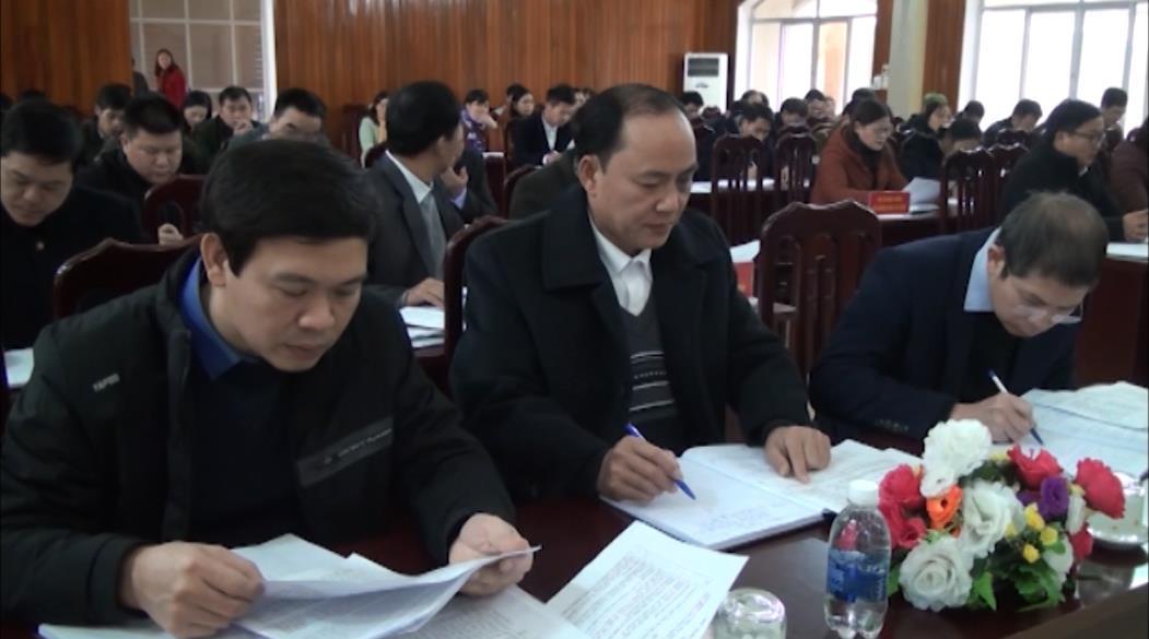 Huyện ủy Nguyên Bình: Tổng kết công tác Đảng, chính quyền năm 2018