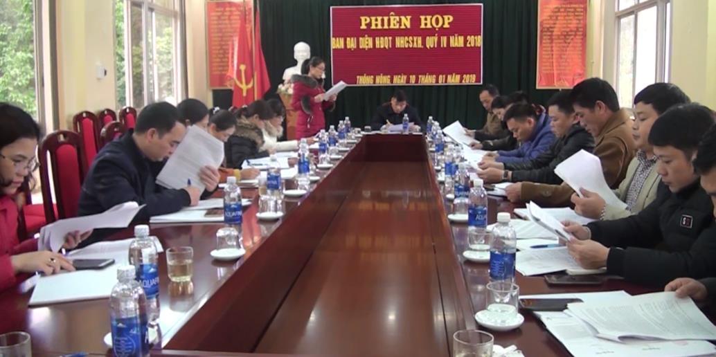 Ban Đại diện HĐQT Ngân hàng CSXH huyện Thông Nông: Triển khai nhiệm vụ quý I/2019