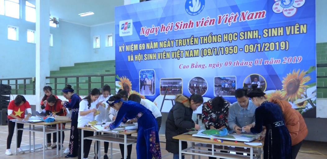 Ngày hội Sinh viên Trường Cao đẳng Sư phạm Cao Bằng