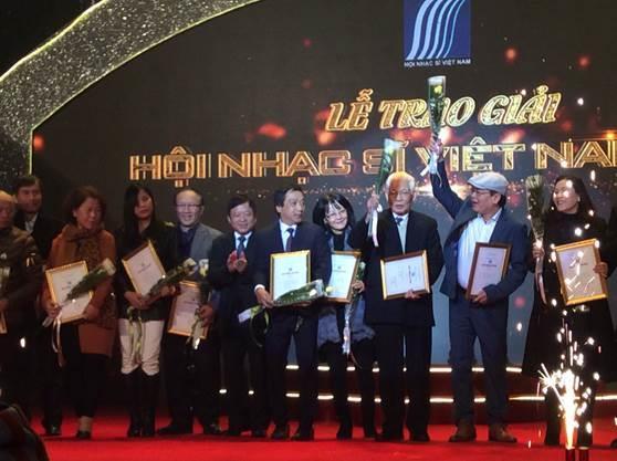Công bố Giải thưởng Hội Nhạc sĩ Việt Nam 2018