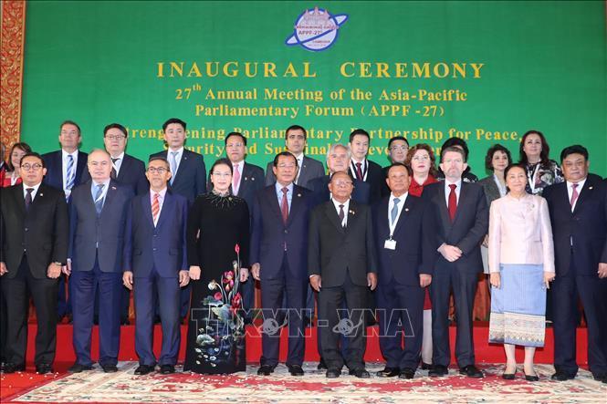 Chủ tịch Quốc hội dự khai mạc APPF-27