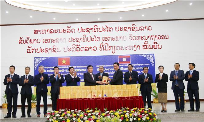 Công bố tác phẩm Hồ Chí Minh được dịch sang tiếng Lào