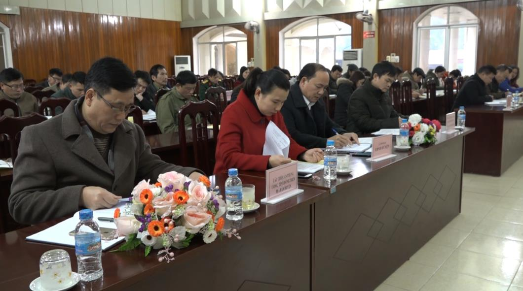Nguyên Bình: Hội nghị lần thứ 13 Ủy ban MTTQ huyện khóa XIII