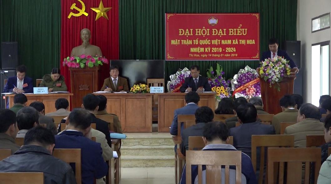 Hạ Lang: Đại hội điểm MTTQ xã Thị Hoa nhiệm kỳ 2019 - 2024