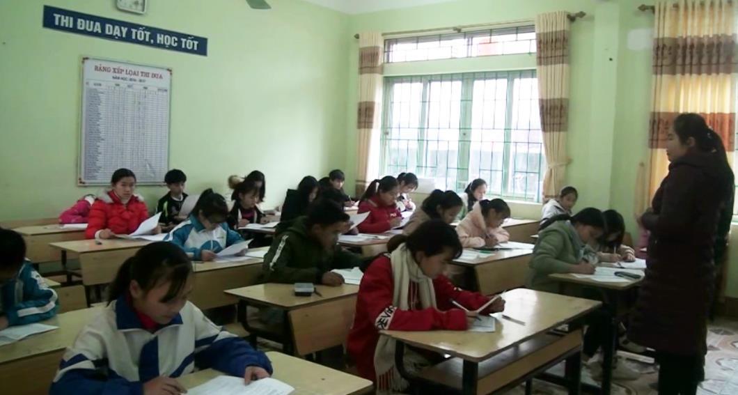 Trùng Khánh: 155 thí sinh dự kỳ thi học sinh giỏi cấp THCS năm học 2018 - 2019