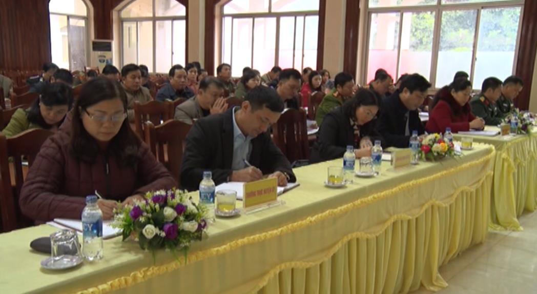 Tổ đại biểu HĐND tỉnh tiếp xúc cử tri huyện Bảo Lạc