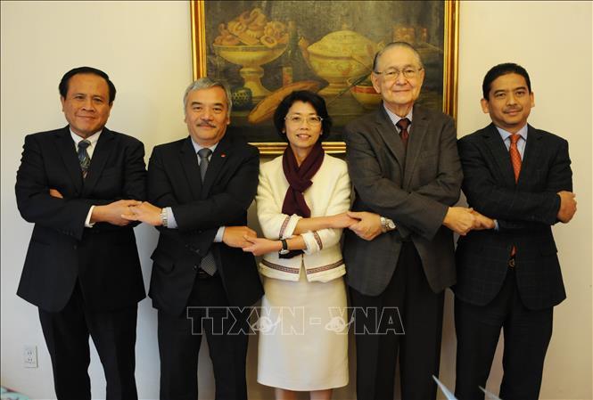 Việt Nam đảm nhận chức Chủ tịch luân phiên Ủy ban ASEAN tại Mexico
