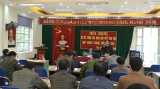 Bảo Lâm: Cụm an ninh các xã giáp ranh sơ kết 6 tháng cuối năm 2018