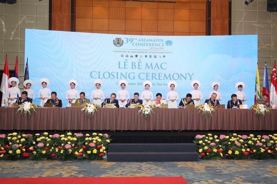 Hội nghị ASEANAPOL thông qua Thông cáo chung
