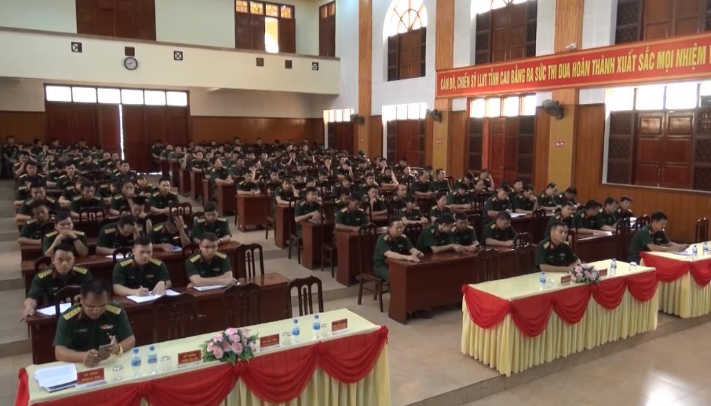 Bộ CHQS tỉnh: Phát động thi đua cao điểm lập thành tích chào mừng Đại hội thi đua quyết thắng LLVT Quân khu 1