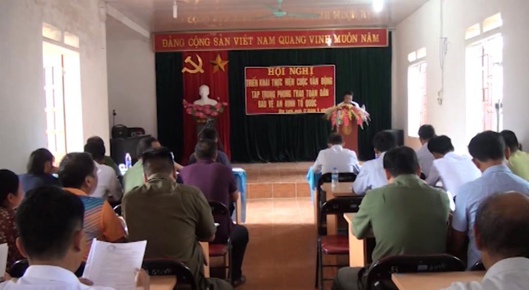 Nguyên Bình: Phát động tập trung phong trào Toàn dân bảo vệ an ninh Tổ quốc tại xã Mai Long