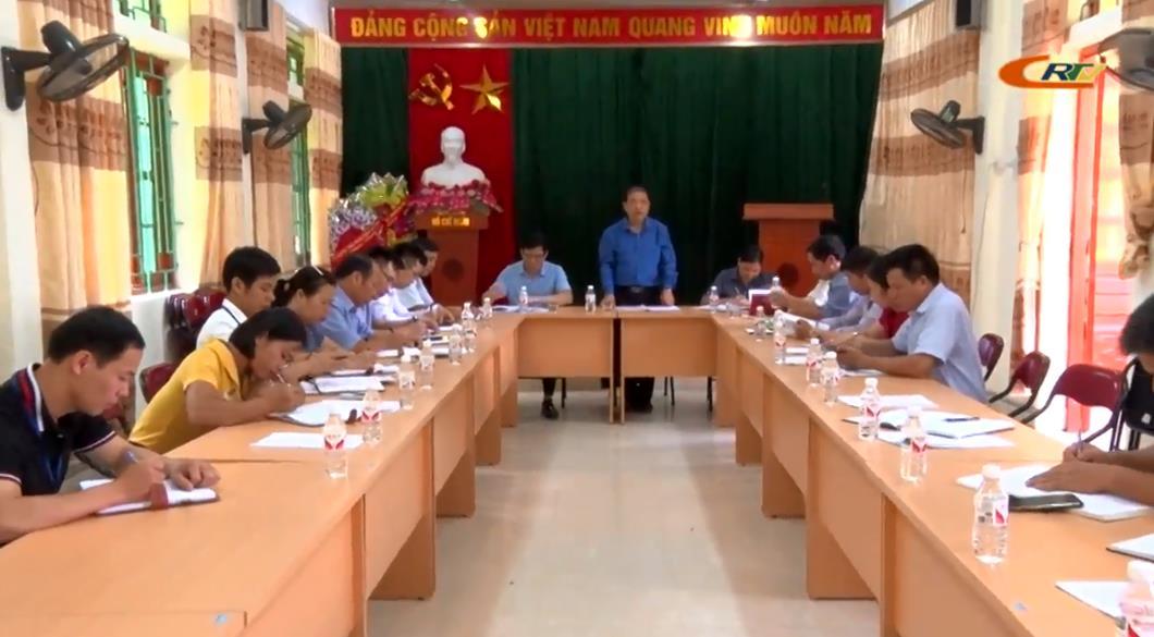 Kiểm tra tiến độ xây dựng nông thôn mới tại huyện Phục Hoà