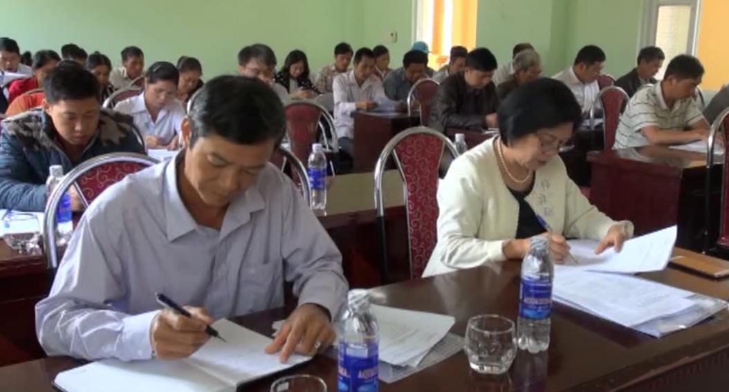 Tuyên truyền xây dựng nông thôn mới tại xã Độc Lập, huyện Quảng Uyên