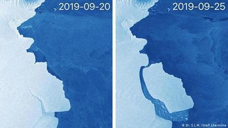 Nam Cực mất đi khối lượng băng lớn nhất hơn 50 năm qua