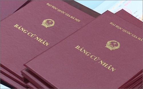Đề xuất quy định nội dung chính ghi trên văn bằng giáo dục đại học